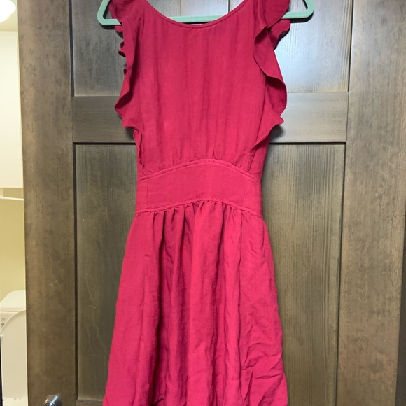 Mustard Seed Dresses & Skirts - Beautiful red open back dress